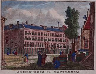 1973-5142 Het Armenhuis te Rotterdam.