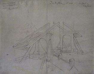 1974-1056 'Jan Kuytenbrug, d'oude hoofdpoort in 't verschiet'.