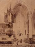 1974-130 Interieur de Nieuwe Kerk in Amsterdam.