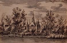 1975-2141 Tot IJsselmonde: 1674 5/23 Kasteel en kerk te IJsselmonde