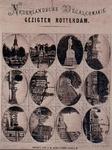 1977-2570 Stadsgezichten in ovale vormen: Zuiderkerk, Koningsbrug, Mont. Tollens, Geldersekade, Spaansekade en ...