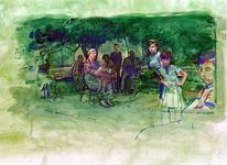 1977-998 De familie van Fahri Agirlar in hun woonplaats Akyazi in Turkije.