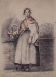 1981-1505 Appelmeisje uit de Broedersteeg in den Oppert.