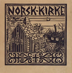 1983-3256 Gezicht op het getroffen Noorse kerkje aan de Westzeedijk