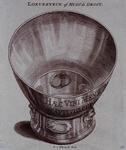 1983-3940 Afbeelding van het glas, dat door Hugo de Groot op Loevestein gebruikt zou zijn.