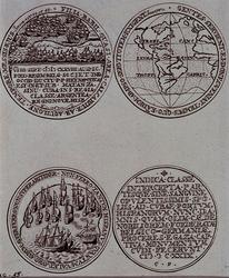 1983-3947 1628 Historiepenning van Piet Hein.