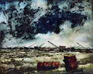 1983-53 Landschap op Rozenburg.