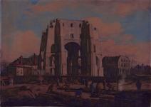1983-807 Gezicht op de stad van de stadhuistoren af uit het noordwesten.