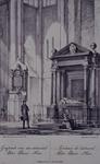 1984-270 Graftombe van Piet Heijn in de Oude kerk te Delft.