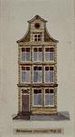 1985-6005 Voorgevel aan de noordzijde van de Kalverstraat.