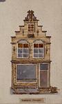 1985-6007 Voorgevel van een huis aan de Voorhaven oostzijde.
