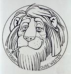 1987-2651-3 Tekening van Gerard Goosen welke hij in de periode 1973-1976 maakte voor aktiegroep het Oude westen.