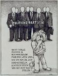 1987-2653-2 Tekening van Gerard Goosen welke hij in de preriode 1973-1976 maakte voor aktiegroep het Oude Westen.