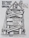 1987-2655-1 Tekening van Gerard Goosen welke hij in de periode 1973-1976 maakte voor aktiegroep het Oude westen.