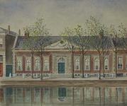 1990-1462 Rotterdamse Schie - Schiekade.Kuyl's fundatie aan de oostzijde van de Schiekade.