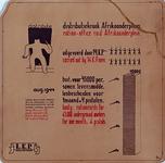 1990-2841 Augustus 1944Aanplakbiljet van een roofoverval op een distributiekantoor aan het Afrikaanderplein door de ...