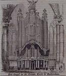 1990-341 Het orgel in de Grote Kerk.
