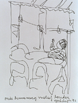 1992-801 Café Melief Bender op de Oude Binnenweg.