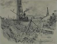 1998-102 Bouw van de kademuur aan de Scheepmakershaven ten behoeve van de aanleg van het binnenvaart- centrum Cristiani ...