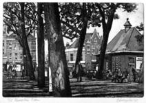 2000-61 Gezicht op het Noordplein nabij de Noordmolenstraat (op achtergrond).