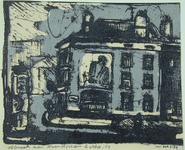 2001-2651-1-TM-3 Afbraak van huizen aan het Noordplein. Serie van 3prenten.-1-2-3
