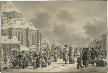 2008-2033 Winterse boerenvismarkt achter de Sint-Laurenskerk.