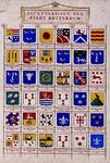 BP-149-40B Wapenkaart van de secretarissen van Rotterdam