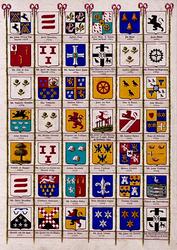 BP-149-40D Wapenkaart van de secretarissen van Rotterdam