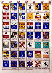 BP-149-40E Wapenkaart van de secretarissen van Rotterdam