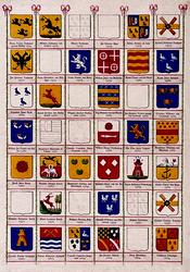 BP-149-40G Wapenkaart van de secretarissen van Rotterdam