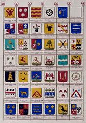 BP-149-40H Wapenkaart van de secretarissen van Rotterdam