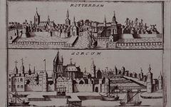 III-22 Prospecten van Rotterdam (boven) en Gorinchem (onder).
