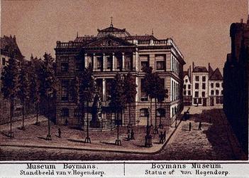 IV-15-11 Het Museum Boymans aan het Van Hogendorpsplein.