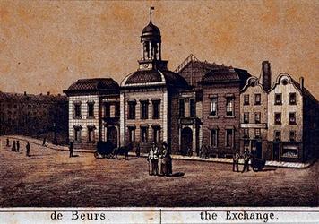 IV-15-4 Het Beursgebouw aan het Beursplein.