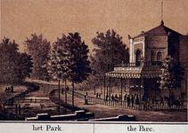 IV-15-6 Gezicht op het Park.