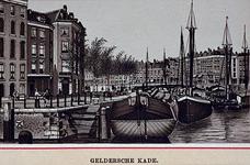 IV-28-7 Gezicht op de Geldersekade bij de Oudehaven.