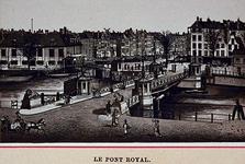 IV-28-8 Gezicht op de Koningsbrug bij de Oudehaven.