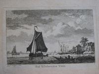 IV-3 Album met ingebonden 6 prenten: 1. Het IJsselmondse veer, 2. Het nieuwehooft der stadt Rotterdam; 3. ...