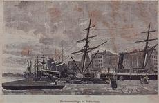 IV-8-13 Het Zeemanscollege aan de Veerdam, met op de achtergrond de Westerkade.