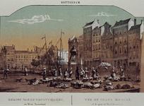 IV-8-5 Gezicht op de Grotemarkt en Westnieuwland.