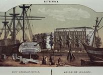 IV-8-8 Gezicht op het Zeemanshuis, aan de Westerhaven.