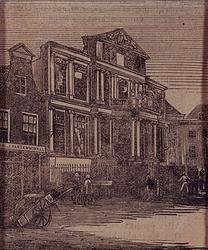 IV-9-2 Het Museum Boymans na de brand, aan de Korte Hoogstraat.