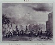 IX-1077 De Grotemarkt uit het westen.