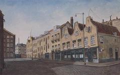 IX-1195 Gezicht in de Herderstraat, uit het noordoosten.