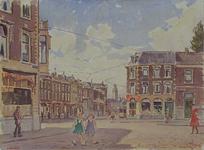 IX-1234 Gezicht op de Hofdijk, vanaf het Noordplein, uit het noorden.