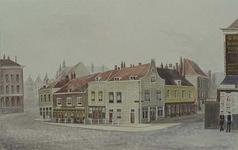 IX-1538 Gezicht op de Katshoek tussen de Rechter Rottekade en de 2de Weenastraat, uit het zuidwesten.