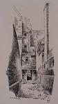 IX-1556-2 Gezicht in de Ketelaarsgang, naar de Schiedamsedijk toe, vanuit het westen.