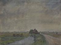 IX-1602 Gezicht op de Korperweg, uit het oosten.