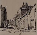 IX-1605 Gezicht in de Kortebrantstraat.
