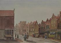 IX-3474 De Wijde Kerksteeg (Wijde Kerkstraat), uit het noorden.